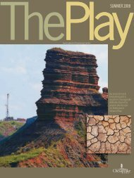 The Play, Summer 2008 Issue - Chesapeake Energy
