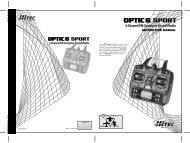 Optic 6 Sport Manual - Hitec