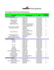 Envirotemp FR3 Fluid Test Summary - SPX Transformer Solutions