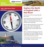 Explore the North of England with a Rail Rover - Northern Rail
