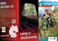 Infoblatt Mountainbike