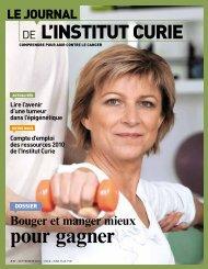 Septembre 2011 - Institut Curie