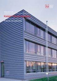Kalzip facade system