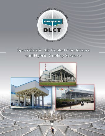 Corporate Brochure - EVAPCO-BLCT Dry Cooling