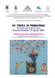 24 FESTA DI PRIMAVERA FESTA DI PRIMAVERA ... - Eventi e sagre