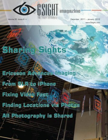 The December–January issue of 6Sight magazine - 6Sight Report