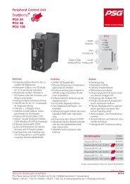 flexotemp® PCU 128, 48, 24 - PSG Plastic Service GmbH