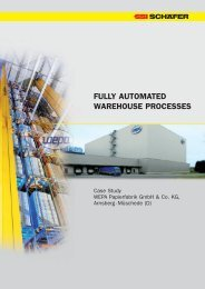 FULLY AUTOMATED WAREHOUSE PROCESSES - ssi-schaefer.de