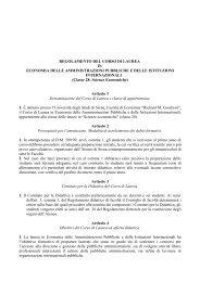 Economia delle amministrazioni pubbliche e delle istituzioni ...