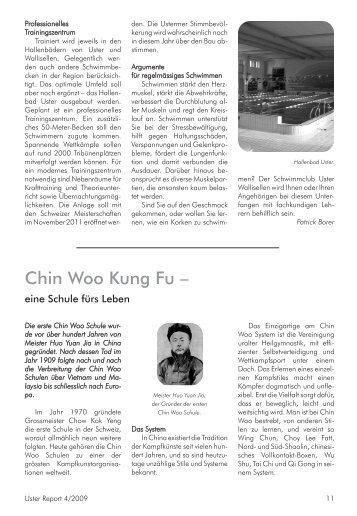 Chin Woo Kung Fu – - Chin Woo Schule Uster