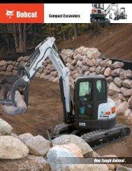Bobcat compact excavators - Drainageworld.com drainageworld