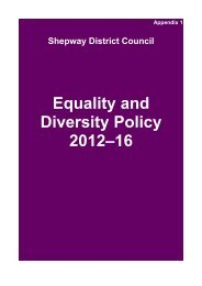 rcabt20120531 Equality and Diversity Policy - Shepway District ...