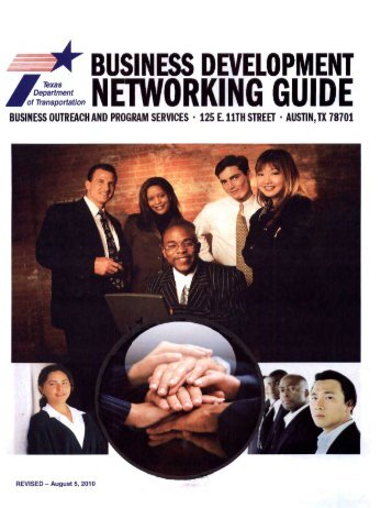 Business Development Networking Guide - Welcome to the Texas ...