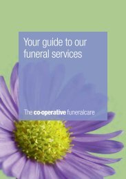 Your guide to our funeral services - Heart of England Co-operative ...