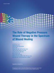 The Role of Negative Pressure Wound Therapy in the ... - Wounds