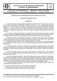 Esercizio Finanziario - Sogisnc.it