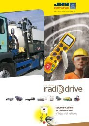 secure solutions for radio control of industrial vehicles