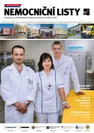 Nemocniční listy - květen 2011 - Středočeský kraj
