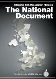 Integrated Risk Management Planning - Fbu.me.uk