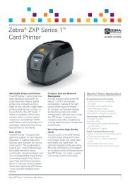Zebra ZXP Series 1 Card Printer - discountid.com