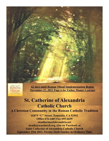 bautizos - St. Catherine of Alexandria
