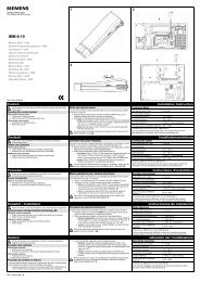 IMM-6-10 - Simon Technologies