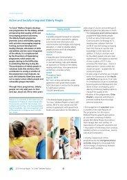 Active and Socially Integrated Elderly People - la Caixa
