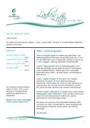 www.evaro-sports.at 2009 – volles Programm