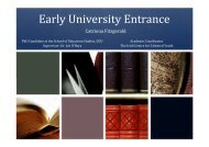 Catriona Fitzgerald Early University Entrance - DCU