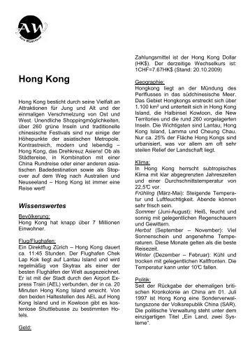 Hong Kong - Asia Workshop