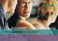 BüroWARE® Finanzbuchhaltung - B.I.T. Soft