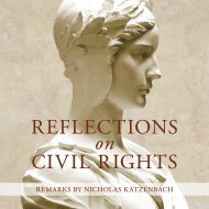Reflections on civil Rights - The President - Lafayette College