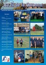 Au fil de la Garonne n°44 - La fédération des Clubs de la Défense