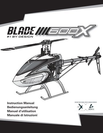 Anleitung - Blade