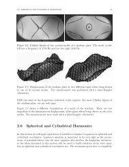 2.6 Spherical and Cylindrical Harmonics