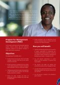 Program for Management Development - Strathmore Business School - Page 5