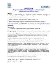 MODERINFRA – Programa de Incentivo à Irrigação e à ... - Abimaq