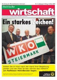 Termine - Wirtschaftskammer Steiermark