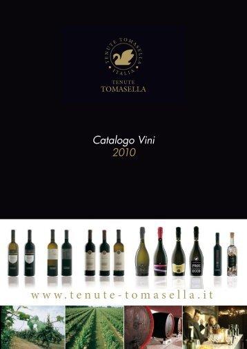 Scarica il catalogo dei vini di Tenute Tomasella - Wine Blog
