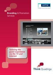 Branding & Promotion Services - Quadriga