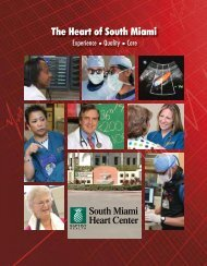The Heart of South Miami - Baptist Health South Florida