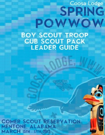 to download the Spring Pow-wow Leader's Guide (PDF).