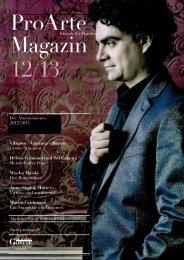ProArte Magazin 12/13