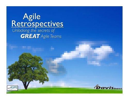 Agile Retrospectives - ASPE – SDLC Training