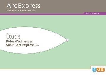 station type enterree - variante - Arc Express