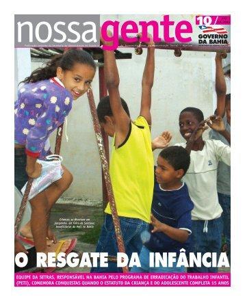 nossa gente - Governo da Bahia