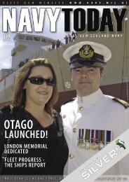 LAUNCHED! - Royal New Zealand Navy