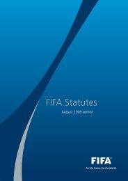 The FIFA Statutes - FIFA.com