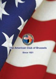 Club Brochure - American Club of Brussels