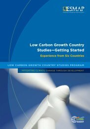 Low Carbon Growth Country Studies—Getting Started - Climate ...